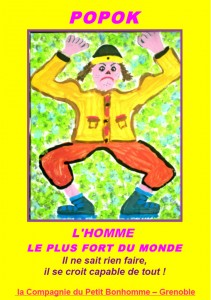 Affiche du spectacle de Popok
