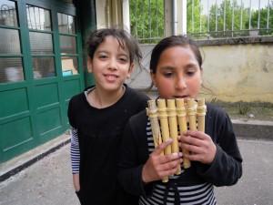 Flûte de pan en bambou