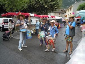 La parade au Touvet